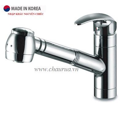 Vòi rửa bát nóng lạnh Deashin DSS 2023 (Vòi rút)