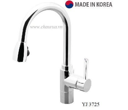 Vòi rửa bát nóng lạnh Sobisung YJ 3725 (Vòi rút)