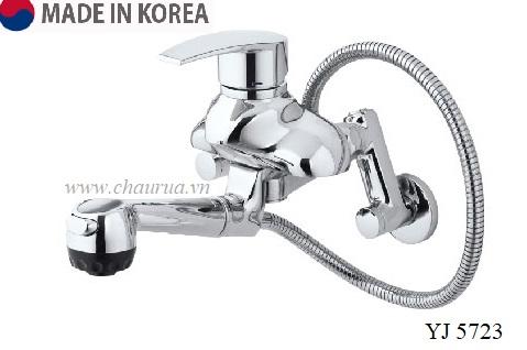 Vòi rửa bát gắn tường Sobisung YJ 5723