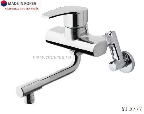 Vòi rửa bát gắn tường Sobisung YJ 5777