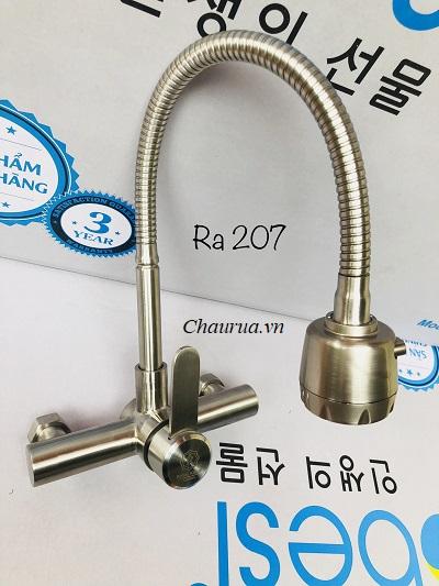 Vòi rửa bát gắn tường Royal Kings RA 207