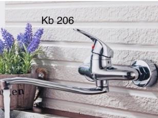 Vòi rửa bát gắn tường Kobesi KB 206