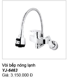 Vòi rửa bát gắn tường Sobisung YJ 6463